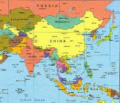 itinéraire vayage asie